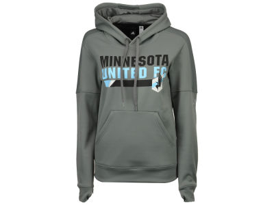 Minnesota United FC adidas MLS Women's Bottom Bar Slant Hoodie