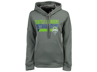 Seattle Sounders FC adidas MLS Women's Bottom Bar Slant Hoodie