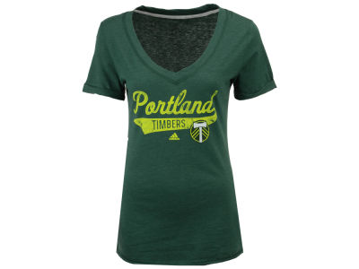 Portland Timbers MLS Women's Tail Stack T-Shirt