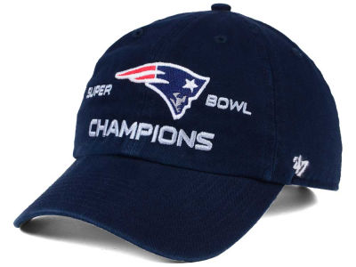 New England Patriots '47 Super Bowl LI Champ '47 CLEAN UP Cap