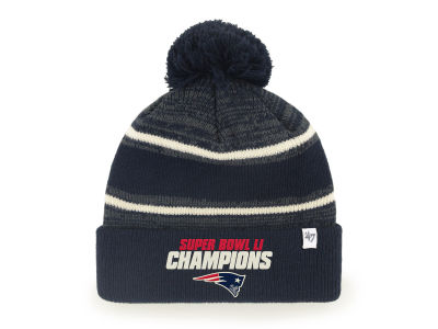 New England Patriots '47 NFL Super Bowl LI Champ Fairfax Cuff Knit