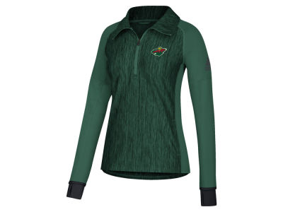 Minnesota Wild adidas NHL Women's Funnel Pullover Jacket
