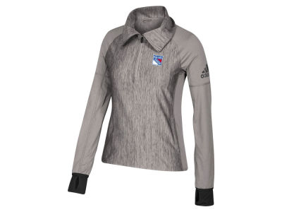 New York Rangers adidas NHL Women's Funnel Pullover Jacket