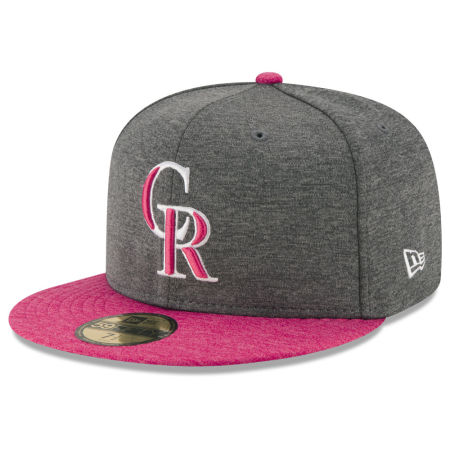 Colorado Rockies New Era 2017 Mothers Day 59FIFTY Cap