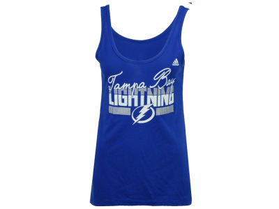 Tampa Bay Lightning adidas NHL Women's Sequin Tank