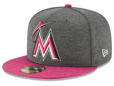 Miami Marlins New Era 2017 Mothers Day 59FIFTY Cap