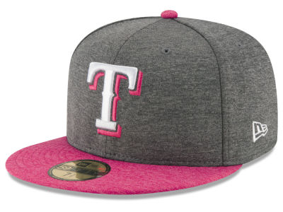 Texas Rangers New Era 2017 Mothers Day 59FIFTY Cap