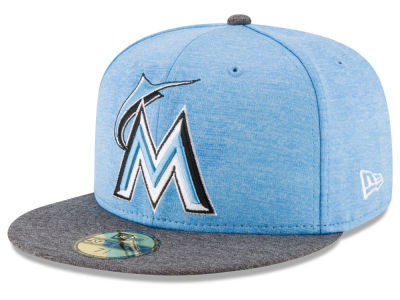 Miami Marlins New Era 2017 MLB Father's Day 59FIFTY Cap