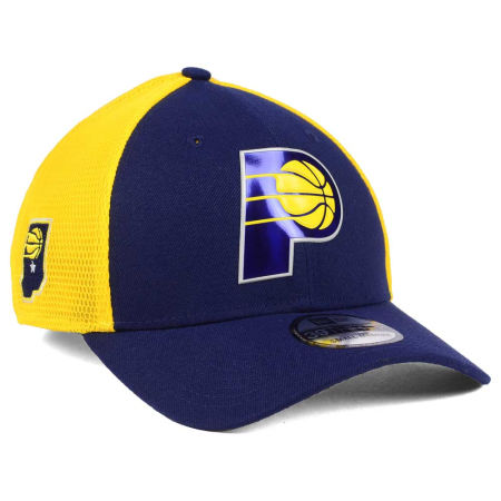 Indiana Pacers New Era 2017 NBA On Court 39THIRTY Cap