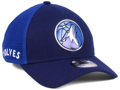 Minnesota Timberwolves New Era 2017 NBA On Court 39THIRTY Cap