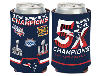 New England Patriots Event Can Cooler
