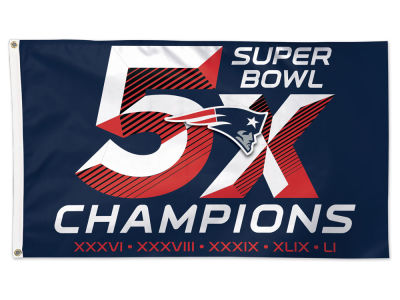New England Patriots Event 3x5 Flag