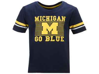Michigan Wolverines Colosseum NCAA Toddler Qualifier T-Shirt