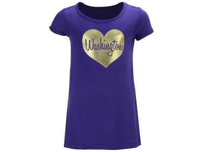 Washington Huskies Colosseum NCAA Toddler Girls Croquet Dress
