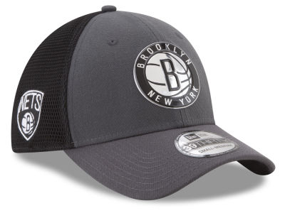 Brooklyn Nets New Era 2017 NBA On Court 39THIRTY Cap