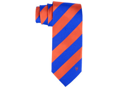 New York Mets Eagles Wings Regiment Woven Silk Tie