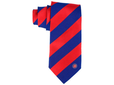 Chicago Cubs Eagles Wings Regiment Woven Silk Tie
