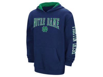 Notre Dame Fighting Irish Colosseum NCAA Youth Zone Pullover Hoodie