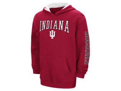 Indiana Hoosiers Colosseum NCAA Youth Zone Pullover Hoodie