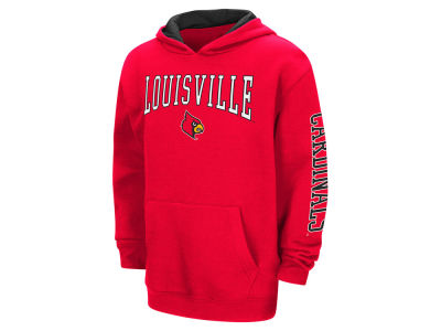 Louisville Cardinals Colosseum NCAA Youth Zone Pullover Hoodie