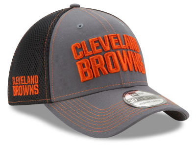Cleveland Browns New Era NFL Shock Stitch Neo 39THIRTY Cap