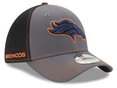 Denver Broncos New Era NFL Shock Stitch Neo 39THIRTY Cap