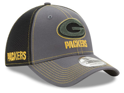 Green Bay Packers New Era NFL Shock Stitch Neo 39THIRTY Cap