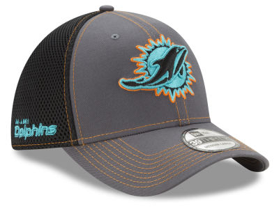 Miami Dolphins New Era NFL Shock Stitch Neo 39THIRTY Cap