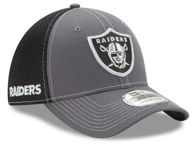 Oakland Raiders New Era NFL Shock Stitch Neo 39THIRTY Cap