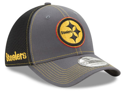Pittsburgh Steelers New Era NFL Shock Stitch Neo 39THIRTY Cap