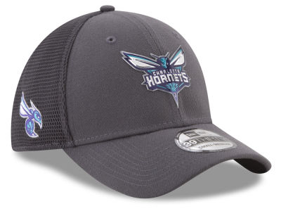 Charlotte Hornets New Era 2017 NBA On Court Graph 39THIRTY Cap