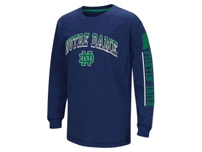 Notre Dame Fighting Irish Colosseum NCAA Youth Grandstand Long Sleeve T-Shirt