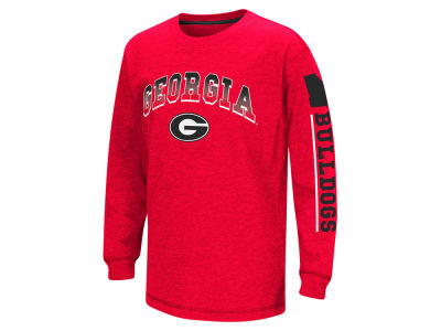 Georgia Bulldogs Colosseum NCAA Youth Grandstand Long Sleeve T-Shirt