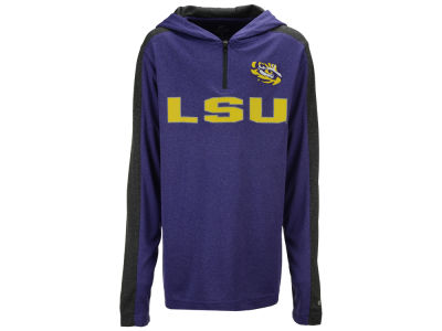 LSU Tigers Colosseum NCAA Youth Hotshot Quarter Zip Hoodie