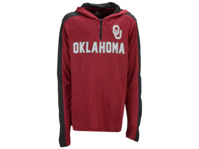Oklahoma Sooners Colosseum NCAA Youth Hotshot Quarter Zip Hoodie