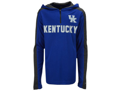Kentucky Wildcats Colosseum NCAA Youth Hotshot Quarter Zip Hoodie