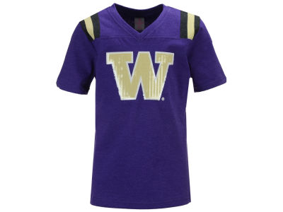 Washington Huskies Colosseum NCAA Youth Girls Rugby T-Shirt