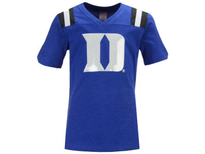 Duke Blue Devils Colosseum NCAA Youth Girls Rugby T-Shirt