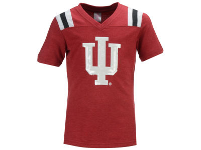 Indiana Hoosiers Colosseum NCAA Youth Girls Rugby T-Shirt