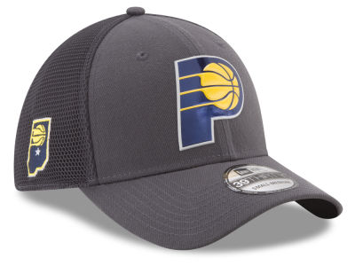Indiana Pacers New Era 2017 NBA On Court Graph 39THIRTY Cap