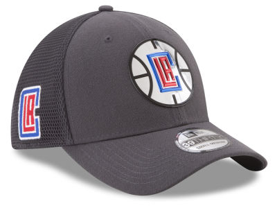 Los Angeles Clippers New Era 2017 NBA On Court Graph 39THIRTY Cap