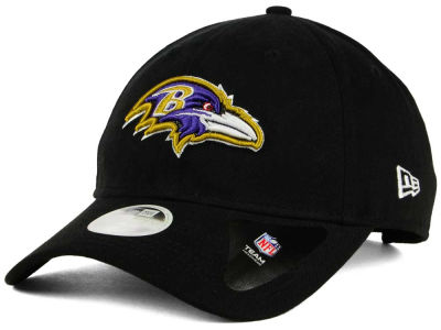 Baltimore Ravens New Era NFL Women's Team Glisten 9TWENTY Cap