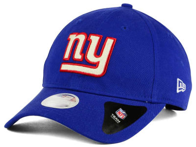 New York Giants New Era NFL Team Glisten 9TWENTY Cap