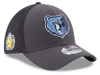 Memphis Grizzlies New Era 2017 NBA On Court Graph 39THIRTY Cap
