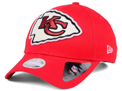 Kansas City Chiefs New Era NFL Women's Glitter Glam 9TWENTY Strapback Cap