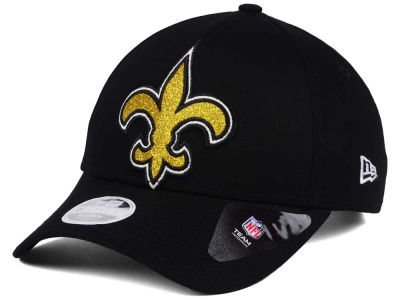 New Orleans Saints New Era NFL Women's Glitter Glam 9TWENTY Strapback Cap
