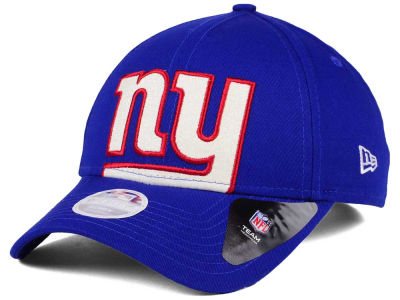 New York Giants New Era NFL Women's Glitter Glam 9TWENTY Strapback Cap