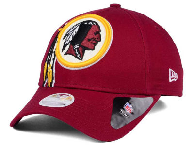 Washington Redskins New Era NFL Women's Glitter Glam 9TWENTY Strapback Cap