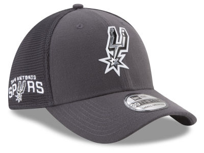 San Antonio Spurs New Era 2017 NBA On Court Graph 39THIRTY Cap