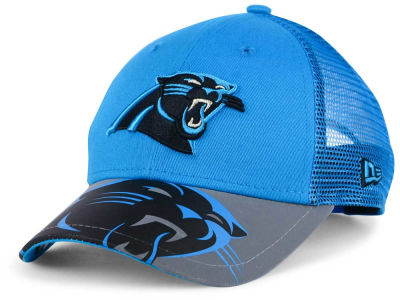 Carolina Panthers New Era Kids Mega Flect Cap